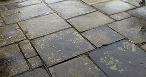 Reclaimed Natural Paving