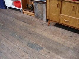 "Reclaimed Victorian Pine Floorboards 6"" – 7"""